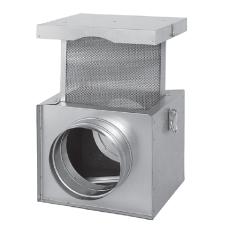 filtr do wentylatora kominkowego izolowany fi 150