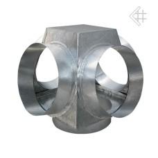 rozdzielacz płaski 150/4x125