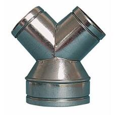 trójnik Y redukcyjny ocynk fi 150/100 mm