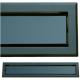 kratka wentylacyjna szczelinowa zamykana z szybką OTI 60 czarna-czarna