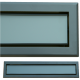 kratka wentylacyjna szczelinowa zamykana z szybką OTI 60 grafit-grafit