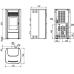 piec wolnostojący na pelet MCZ EGO 2.0 Comfort Air