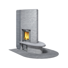 kominek akumulacyjny piec ze steatytu TULIKIVI FIORINA