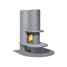 kominek akumulacyjny piec ze steatytu TULIKIVI GEMINI