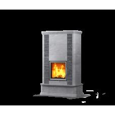 kominek akumulacyjny piec ze steatytu dwustronny TULIKIVI AKKO 1800 2D GRAFIA