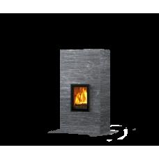 kominek akumulacyjny piec ze steatytu dwustronny TULIKIVI KOLI 1800 2D GRAFIA