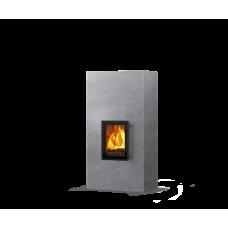 kominek akumulacyjny piec ze steatytu dwustronny TULIKIVI KOLI 1800 2D RIGATA