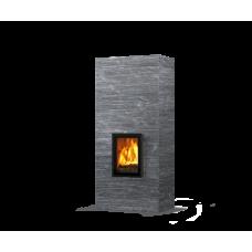 kominek akumulacyjny piec ze steatytu dwustronny TULIKIVI KOLI 2100 2D GRAFIA