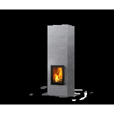 kominek akumulacyjny piec ze steatytu dwustronny TULIKIVI KOLI S 2100 2D RIGATA