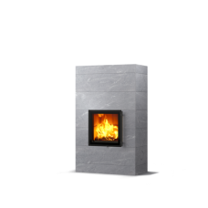 kominek akumulacyjny piec ze steatytu dwustronny TULIKIVI RAITA 1800 2D CLASSIC