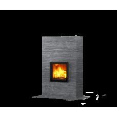 kominek akumulacyjny piec ze steatytu dwustronny TULIKIVI RAITA 1800 2D GRAFIA