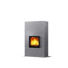 kominek akumulacyjny piec ze steatytu dwustronny TULIKIVI RAITA 1800 2D RIGATA