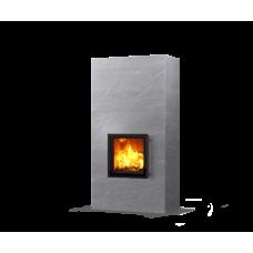 kominek akumulacyjny piec ze steatytu dwustronny TULIKIVI RAITA 2100 2D RIGATA