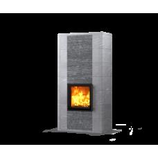 kominek akumulacyjny piec ze steatytu dwustronny TULIKIVI SALVO 2100 2D GRAFIA