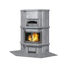 kominek akumulacyjny piec ze steatytu z piekarnikiem TULIKIVI KTLU 2037 91