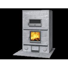 kominek akumulacyjny piec ze steatytu z piekarnikiem TULIKIVI TLU 2450 92