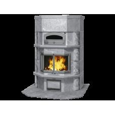 kominek akumulacyjny piec ze steatytu z piekarnikiem TULIKIVI TLU 2637 11