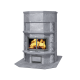 kominek akumulacyjny piec ze steatytu z piekarnikiem TULIKIVI TLU 2687 11