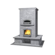 kominek akumulacyjny piec ze steatytu z piekarnikiem TULIKIVI TTU 2700 51