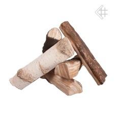 drewienka ceramiczne do biokominka mix - zestaw