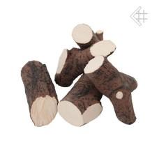 drewienka ceramiczne do biokominka - zestaw