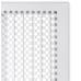 kratka wentylacyjna do kominka TREND 325x170