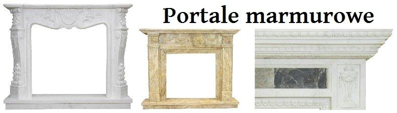 kominki marmurowe klasyczne portale kominkowe angielskie