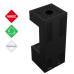 LEO 45/68 lewy / prawy z zabudową HOME EASY BOX stalowy - czarny na gaz ziemny