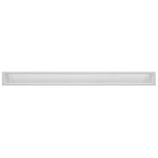 kratka wentylacyjna do kominka luft 9 x 100 biały