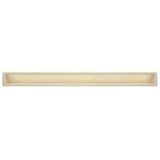 kratka wentylacyjna do kominka luft 9 x 100 kremowy