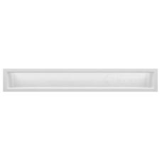 kratka wentylacyjna do kominka luft 9 x 60 biały