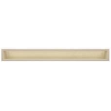 kratka wentylacyjna do kominka luft 9 x 80 kremowy