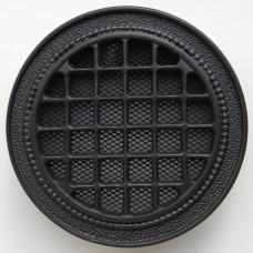 kratka wentylacyjna okrągła do kominka rozeta k18-r150 grafit