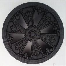 kratka wentylacyjna do kominka rozeta zamykana 150-2 grafit