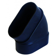 kolano pionowe 45 stopni nyplowe czarne Slimline