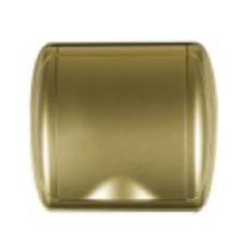 gniazdo tworzywowe DUE złote