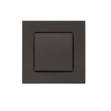 gniazdo tworzywowe Leovac Deco czarne