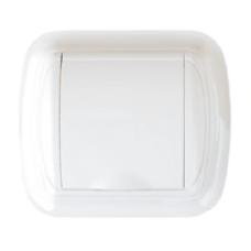 gniazdo tworzywowe DUE białe
