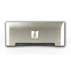 szufelka automatyczna LEOVAC DUE srebrna