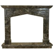 kominek marmurowy portal kominkowy Liverpool marmur emperador