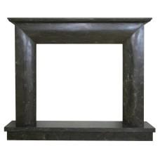 kominek marmurowy portal kominkowy Modena czarny marmur