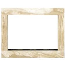 rama portalowa kominkowa 10 cm - 610 x 502 mm - marmur Breccia Sarda