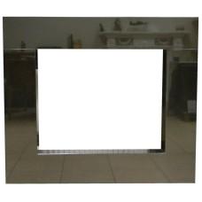 rama portalowa kominkowa 10 cm - 750 x 522 mm - granit Nero Assoluto połysk