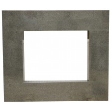 rama portalowa kominkowa 15 cm - 750 x 522 mm - granit Padang