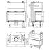 wkład kominkowy Romotop HEAT 3CL C 80.52.31.01 szyba gięta