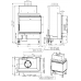 wkład kominkowy Romotop HEAT L 2g S 65.51.40.01