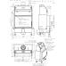 wkład kominkowy z płaszczem wodnym Romotop HEAT WA 2g 70.50.01