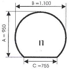 szyba hartowana pod piec kominek I1