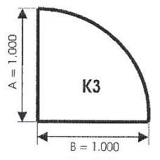 szyba hartowana pod piec kominek K3