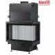 wkład kominkowy z płaszczem wodnym Unico Nemo 4B 24 kW Top Eco prawa szyba jednolita
